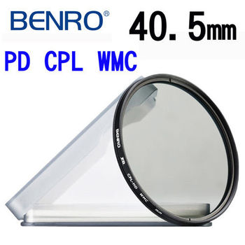 【BENRO百諾】40.5mm PD CPL-HD WMC 12層奈米高透光鍍膜偏光鏡