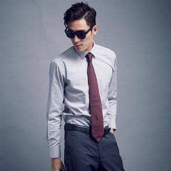 【WELLCUT】男士防皺長袖襯衫(灰)