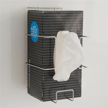 《舒適屋》不鏽鋼吸鐵面紙盒架