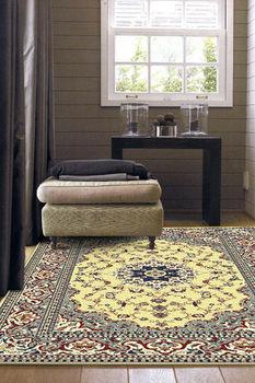 【范登伯格】奧瓦異國風情進口柔亮絲質地毯-(淺)140x200