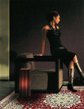 【范登伯格】奧瓦富麗堂皇花款設計柔亮進口絲質地毯-140x200
