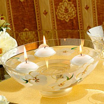 【Madiggan貝斯麗】玫瑰系列手工彩繪開運玻璃碗(三色任選)