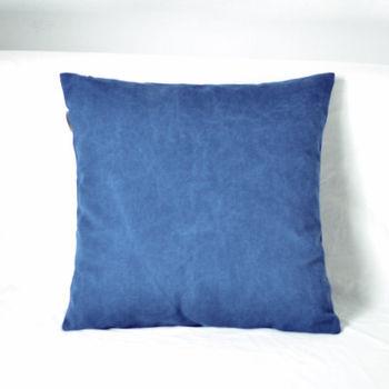 【協貿】簡約現代宜家牛仔布牛仔藍沙發方形抱枕含芯