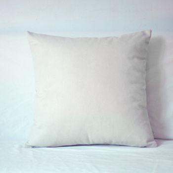 【協貿】簡約現代宜家牛仔布米白沙發方形抱枕含芯