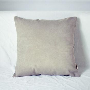 【協貿】簡約現代宜家牛仔布中度灰沙發方形抱枕含芯