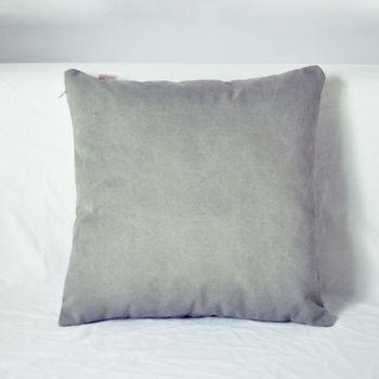 【協貿】簡約現代宜家牛仔布蒼綠沙發方形抱枕