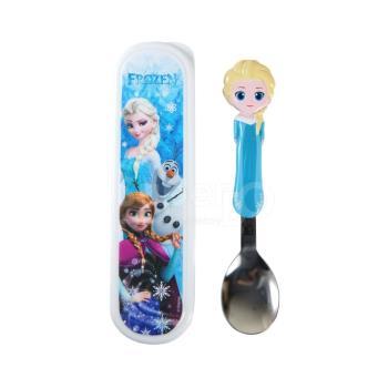 【SuperBO】3D造型湯匙-冰雪奇緣Elsa(附盒)
