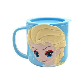 【SuperBO】3D造型杯(300ml)冰雪奇緣Elsa