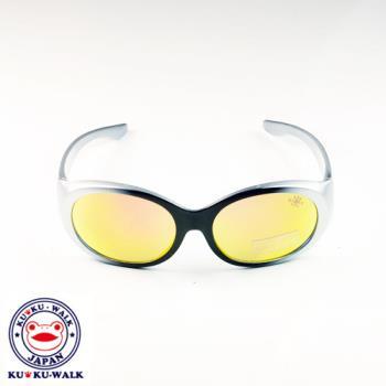 日本Ku Ku Walk兒童太陽眼鏡-時尚烤漆鏡框