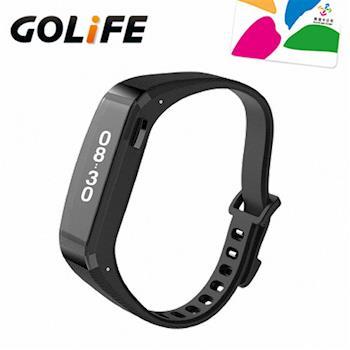 GOLiFE Care-X 時尚生活智慧手環-黑色(贈悠遊卡錶帶+2禮)