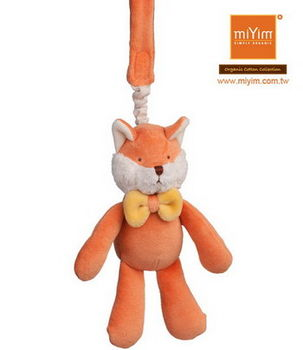 美國miYim有機棉推車吊掛娃娃 福斯小狐