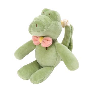 美國miYim有機棉推車吊掛娃娃 阿里鱷魚