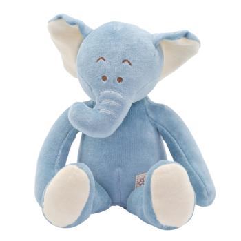 美國miYim有機棉安撫娃娃 芬恩象象 32cm