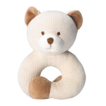 美國miYim有機棉固齒器 - 手圈圈款 (小熊)