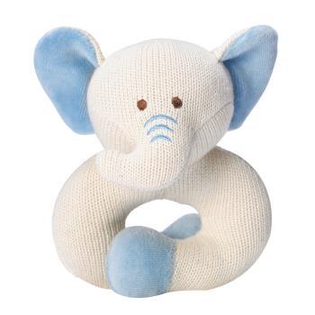 美國miYim有機棉固齒器 - 手圈圈款 (大象)