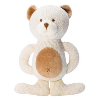 美國miYim有機棉 固齒娃娃禮盒 (小熊)
