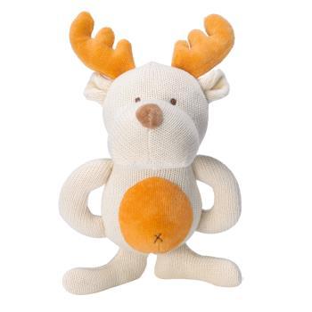美國miYim有機棉 固齒娃娃禮盒 (麋鹿)