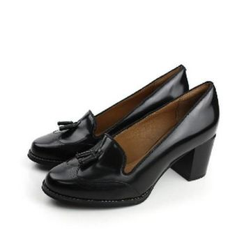 Clarks Tarah Rosle 粗低跟鞋 黑 女款 no713