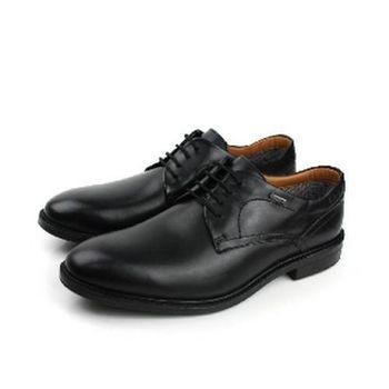 Clarks Chilver Walk GTX 真皮皮革 舒適 抗震 紳士皮鞋 黑 男款 no698