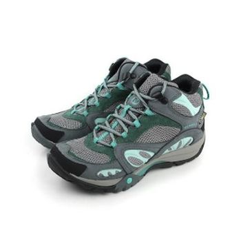 MERRELL AZURA MID GORE-TEX 越野鞋 灰藍 女款 no610