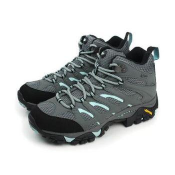 MERRELL MOAB MID GORE-TEX 休閒鞋 藍灰 女款 no612