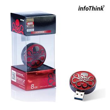 InfoThink HYDRA 九頭蛇 OTG雙頭造型隨身碟 16GB