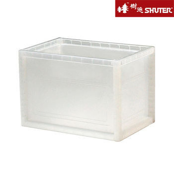 【樹德SHUTER】小透彩巧拼收納箱 (6入組) -透明