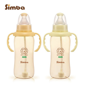 【小獅王辛巴】PPSU自動把手標準葫蘆大奶瓶2支組(320ml)