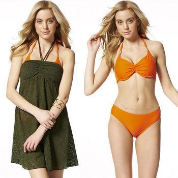 【SARBIS】MIT大女三件式比基尼泳裝附泳帽B93509