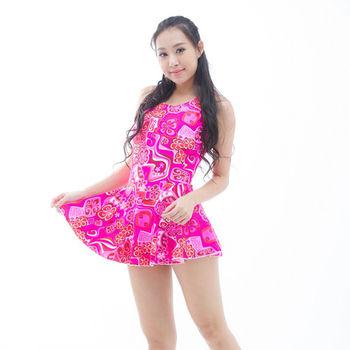 【BICH LOAN】泡湯/SPA專用大尺碼連身裙泳裝13006616