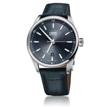 Oris Artix日期錶-藍/42mm(0173376424035-0752185FC)
