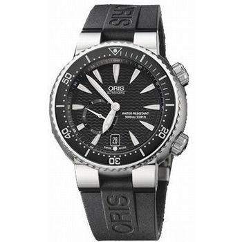 ORIS Divers 小秒針【鈦】千米專業潛水錶-44mm(64376377454R)