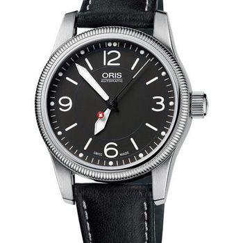 ORIS Hunter Team PS 飛行機械腕錶-黑(O733.7649.40.63LS)