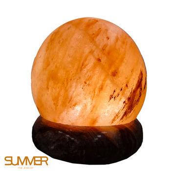 【SUMMER寶石】職場開運招財USB鹽燈-圓球形(職場必備-隨機出貨)