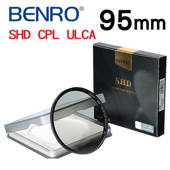 【BENRO百諾】95mm SHD CPL UCLA WMC/SLIM 薄框偏光鏡