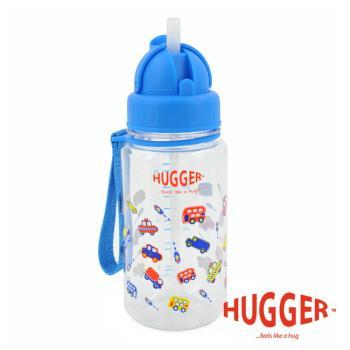 英國Hugger Tritan彈跳吸管水壺 (玩具車)