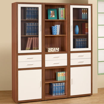 Homelike 艾琳6尺大書櫃