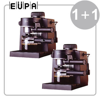 《超值2入組》【EUPA優柏】義大利式咖啡機 TSK-183