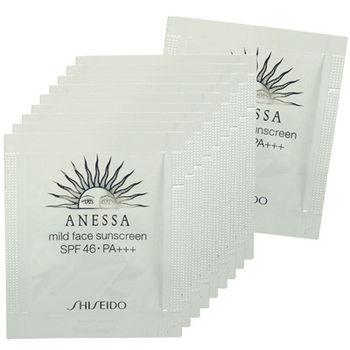 SHISEIDO資生堂 ANESSA安耐曬 臉部溫和防曬露SPF46.PA+++(0.6ml*10)