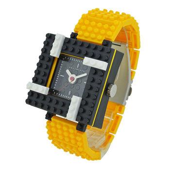 【nanoblock河田積木】中性錶黃色WA04(微型積木)