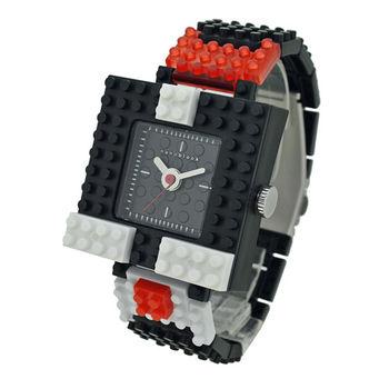 【nanoblock河田積木】中性錶黑色WA02(微型積木)