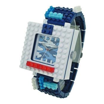 【nanoblock河田積木】中性錶海軍藍迷彩WA16(微型積木)
