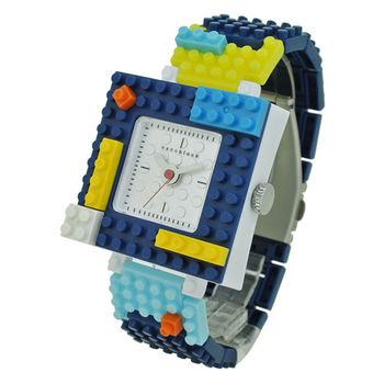 【nanoblock河田積木】中性錶海軍藍WA03(微型積木)