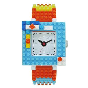 【nanoblock河田積木】中性錶橘色WA08(微型積木)