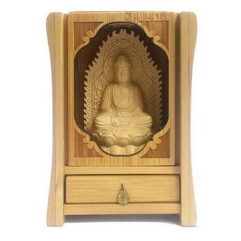 【十相自在】全竹雕刻佛龕(釋迦牟尼佛)
