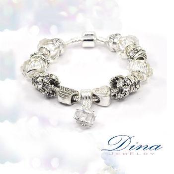 DINA JEWELRY蒂娜珠寶 純淨佳人 潘朵拉風格 設計手鍊