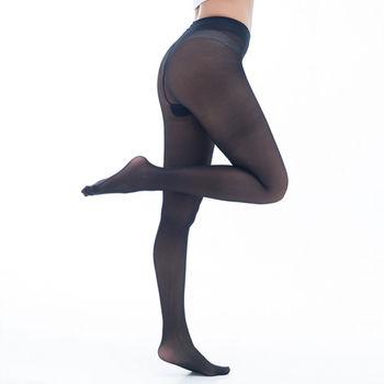 【KEROPPA】可諾帕台灣製時尚亮透褲襪-黑*兩雙-C62006-1