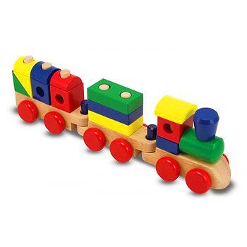 【美國 MelissaDoug】經典系列-積木火車 MD572