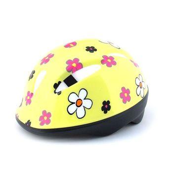兒童安全帽/頭盔(小黃花)  台灣製造 /滑步車/滑板車用