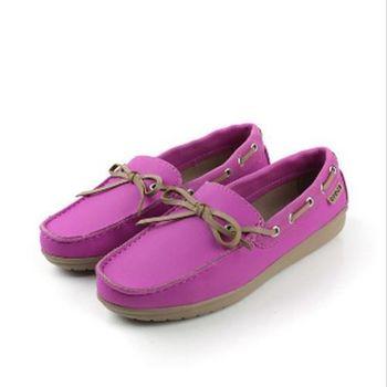 Crocs 休閒鞋 紫 女款 no276
